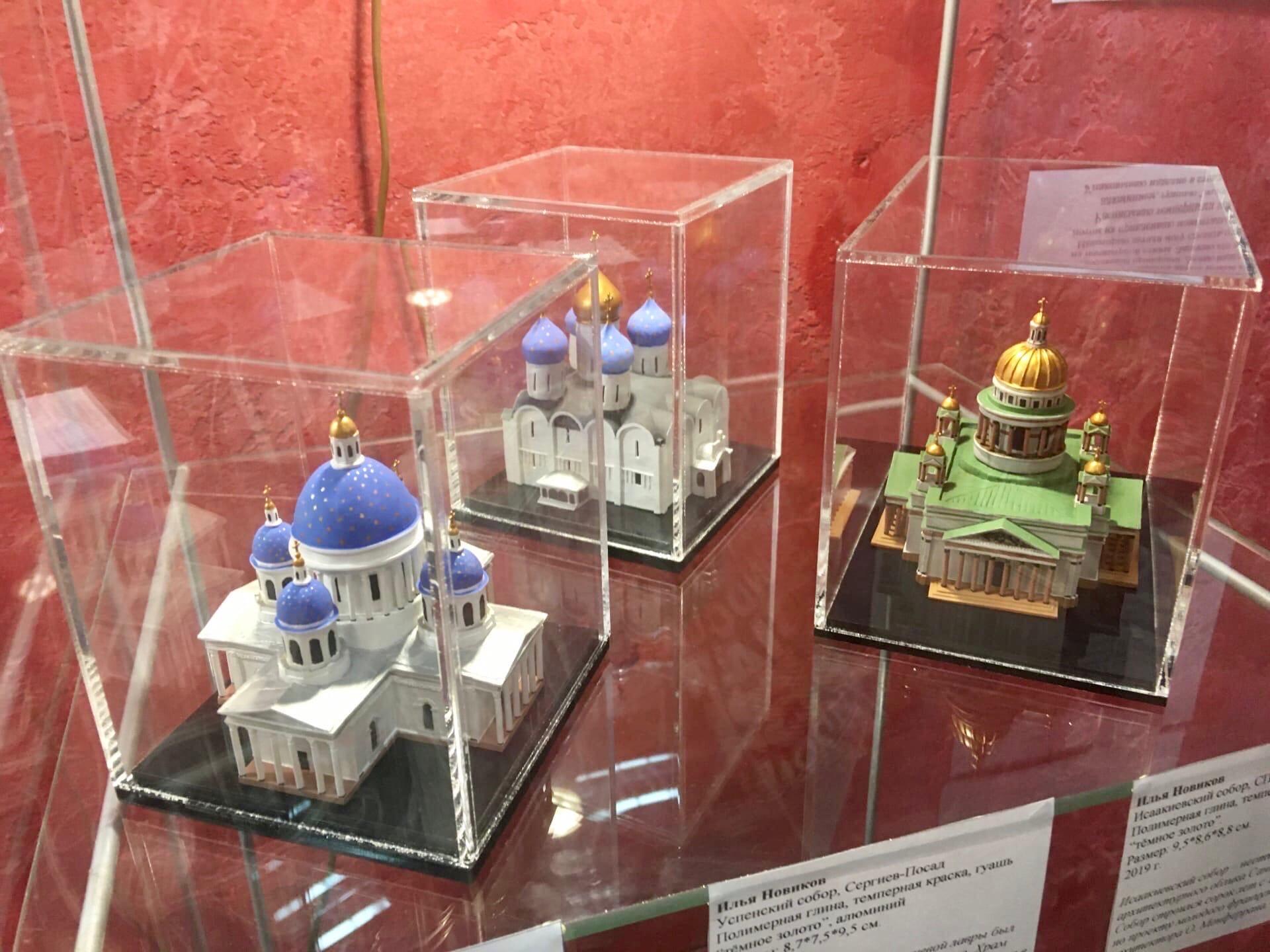 Экспозиция храмов в музее